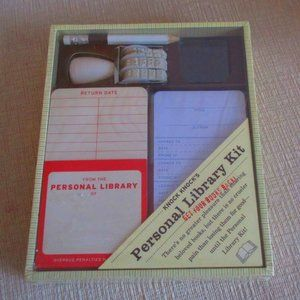 Personal Library Kit for Book Lovers Old School